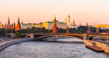 Moscow River And The Kremlin I...