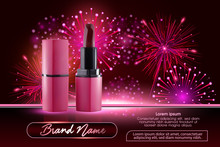 Makeup Ads Template Charming R...