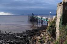 Clevedon Pier, Somerset, Engla...