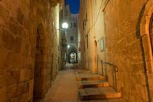 Narrow Paths Through The Jewish Quarter Of The Old City Of Jerusalem