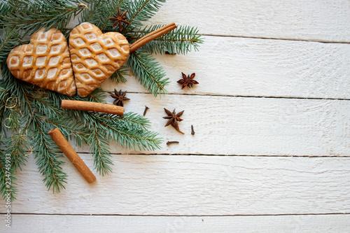Fototapeta  Bożonarodzeniowe tło obraz