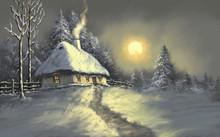 Digital Oil Paintings Rural La...