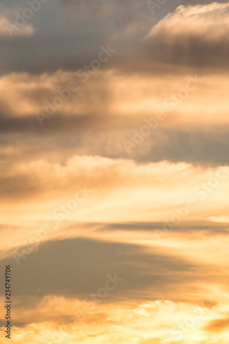 Poster de jardin Desert de sable sunrise