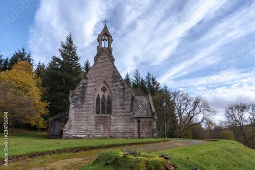 Photographie Maxwelton Church, Dumfriesshire, Southern Scotland in Autumn