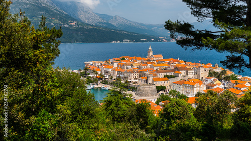 korcula island , Croatia Tablou Canvas