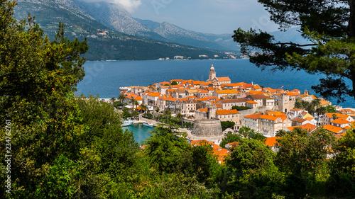 Fotografie, Obraz korcula island , Croatia