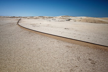 An Old Pipe Lines In The Namib...