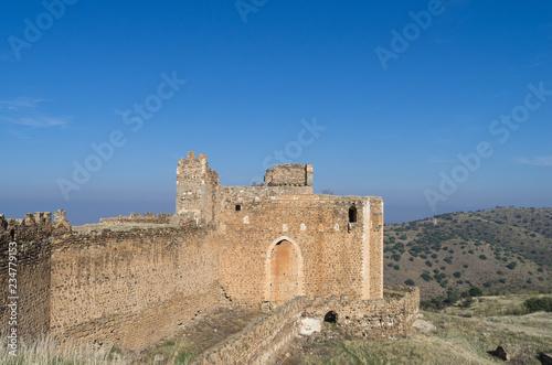 Photo  Ruins of templar castle of Montalban in Toledo