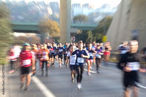 Foto op Aluminium maraton,koşu