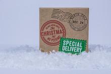 Santa Secret Delivery Present