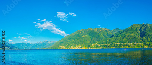 Geneva lake also called as Lac Leman in Switzerland Canvas Print