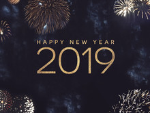 Happy New Year 2019 Celebratio...