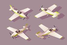 Set Light Aircraft For Transpo...