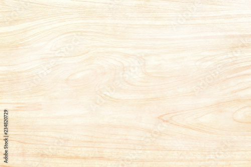 Fototapeta Wooden wall texture background, Light brown natural wave patterns abstract in horizontal obraz na płótnie