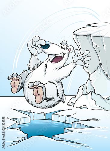Fotografia, Obraz  Cute Polar Bear