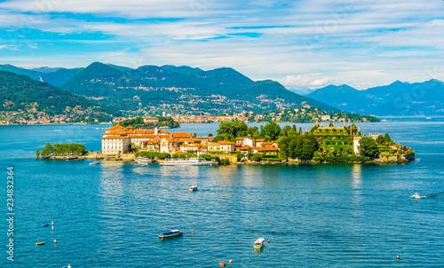 Isola Bella at Lago Maggiore, Italy Canvas Print