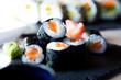 Maki Salmon Japanese Sushi