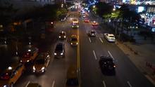 Night Illuminated Taipei City ...