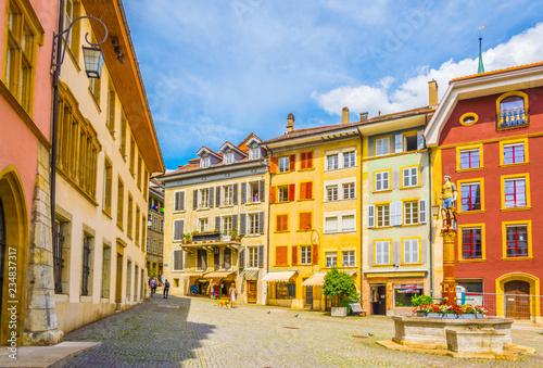 Fotografía  Historical center of Biel/Bienne, Switzerland