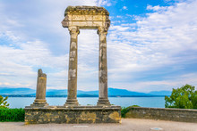 Ruins Of An Ancient Column In ...