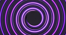 Abstract Purple Radial Backgro...