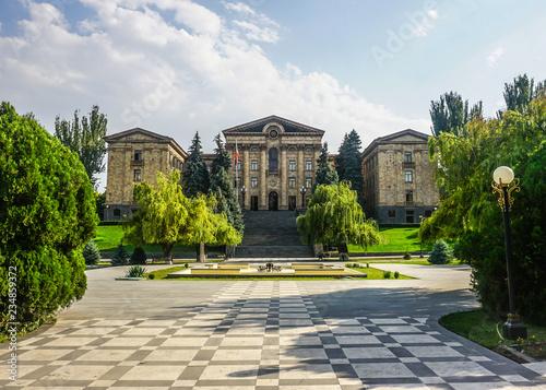 Poster Artistique Yerevan National Parliament