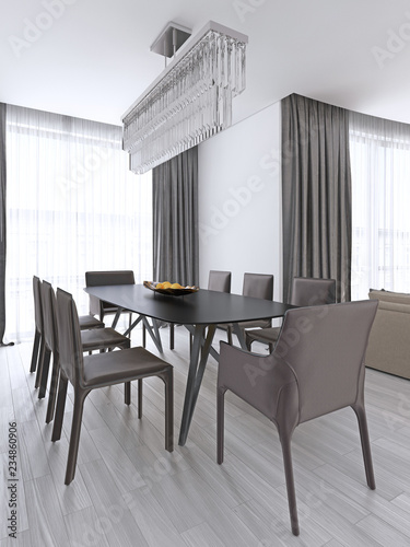 Dining Table In A Studio Apartment The Scandinavian Style