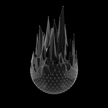 Abstract Spiked Black Object