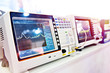 canvas print picture - Digital spectrum analyzer