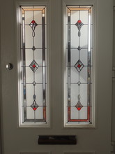 Stained Glass Window, Front Do...