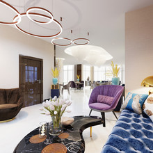 Luxury Five Star Hotel With Lounge Area.