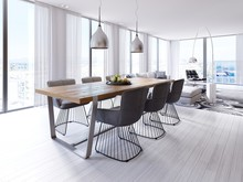 Designer Dining Table In The L...