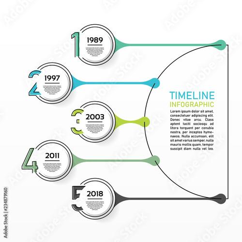 Business data visualization Canvas Print