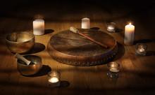 Shaman Tambourine And Tibetan ...