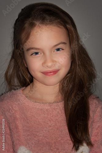 Portret dziewczynki