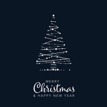 Minimalist Christmas Flyer/card Template