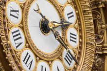 Clock In Gare Musée D'Orsay