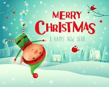 Merry Christmas! Little Elf Ha...