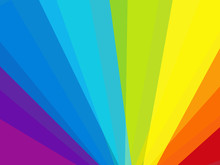 Colorful Rainbow Vector Bakcgr...