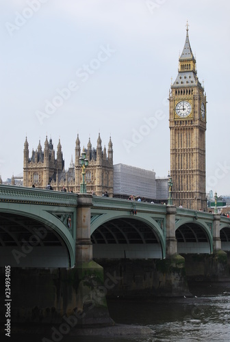 Palace of Westminster, London, England Wallpaper Mural