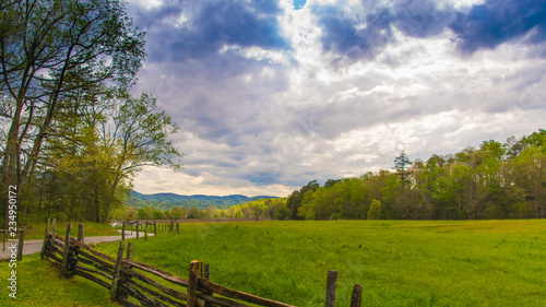 Photo  Cades Cove Meadow