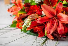 Vibrant Bouquet Of Orange Asia...