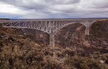 Rio Grande Gorge Bridge On A C...