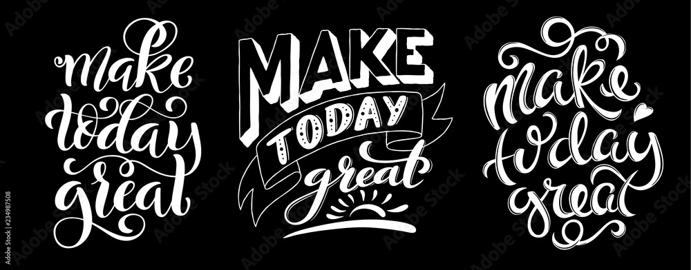 Photo  Make today great