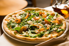 Salmon Italian Pizza Traditional