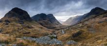 Panorama At The Three Sisters,...