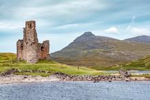 Castle Ruin Ardvreck Castle On...