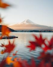 Landscape With Mount Fuji, Hon...