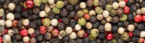 Wall Murals Macro photography Peppercorn Panorama