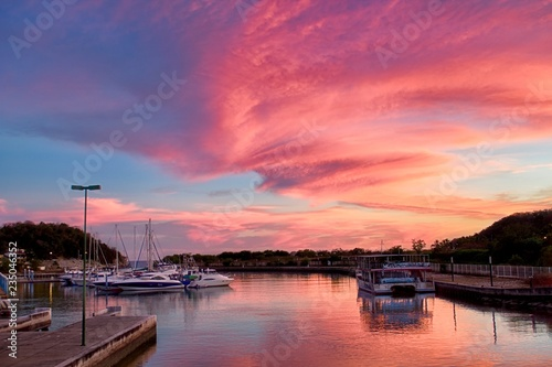 Fotografía  Beautiful sunset, Bahia Chahue